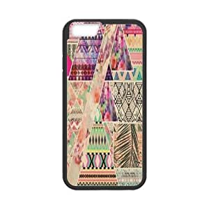 Aztec Wood DIY Cover Case for iPhone6 4.7