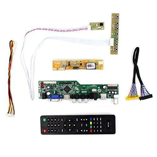 VSDISPLAY HDMI+VGA+CVBS+USB+RF+Audio LCD Motor Driver Board Controller Kit Work For 15.4'' 17'' LTN154P1 LTN170WP 1680x1050 1CCFL 30P LCD Panel by TBS SHOP (Image #1)