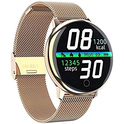 HPYHPY All-round touch control heart rate blood pressure physiological monitor bracelet fitness tracker smart watch