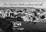 Der Südwesten Utahs in schwarz und weiß (Tischkalender 2019 DIN A5 quer): Fotos aus dem Süden Utahs (Monatskalender, 14 Seiten )