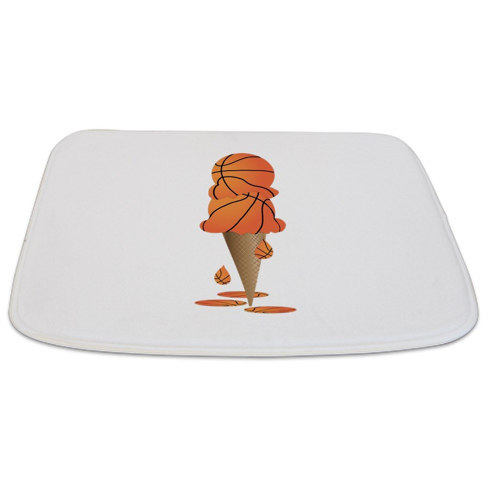 Bathmat Small Basketball Ice Cream Cone
