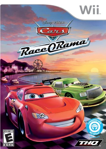 Disney's Cars Race O Rama - Nintendo Wii (Best Driving Games For The Wii)