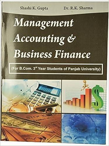 Financial Management Book By Shashi K Gupta