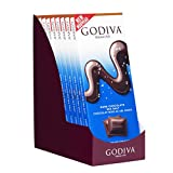 Godiva Chocolatier 90g Dark Chocolate Sea Salt Tablet, Self Treats, Great as a Favor, Great for Gifting, 31.75 Ounce, 10 Pack