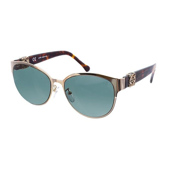 Loewe SLW476M540300 Gafas de Sol, Shiny Rose Gold, 54 para ...
