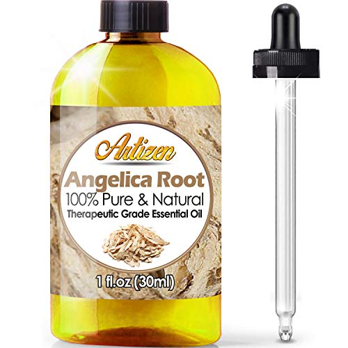 - Artizen Angelica Root Essential Oil (100% PURE & NATURAL - UNDILUTED) Therapeutic Grade - Huge 1oz Bottle - Perfect for Aromatherapy, Relaxation, Skin Therapy & More!
