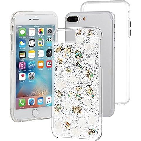 Case-Mate Karat Case iPhone 7/6s/6 Plus Pearl, CM034772X (7/6s/6 Plus Pearl) (Platinum Brand Iphone 6 Plus Case)
