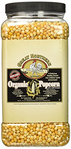Great Northern Popcorn Organic 7 Pound Jug