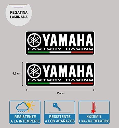 STICKER YAMAHA FACTORY RACING LAMINATO STAMPA ALTA Qualit/à 2 Unit/à