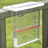 Johnson Smith Co. Waterfall Stylish Rain Gauge - Easy To Read Design w/Floating Rain Maker