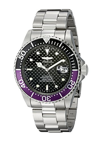 Invicta Men's 18159 Pro Diver Analog Display Japanese Automatic Silver Watch