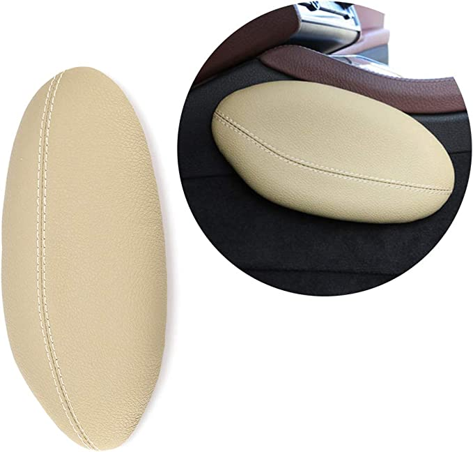Universal car seat cushion foot support pillow leg support car seat cushion Leather Leg Cushion Knee Pad Thigh Support Pillow Interior Car Accessories