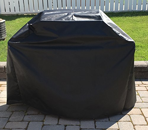 Comp Bind Technology Char Broil Performance 4 Burner Model 463347017 Gas Grill Outdoor, Waterproof Black Grill Cover By 53.1''W x 25.8''D x 45''H by Comp Bind Technology