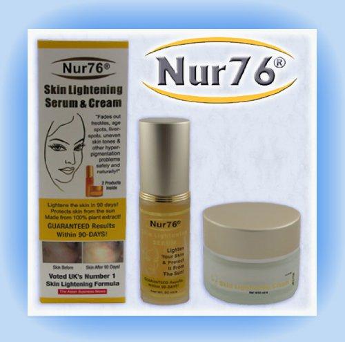 Nur76® Skin Lightening Serum and Cream for Face