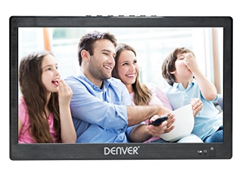 Denver LED-1031 10 inch Small Portable TV with Freeview | 12 Volt TV for...