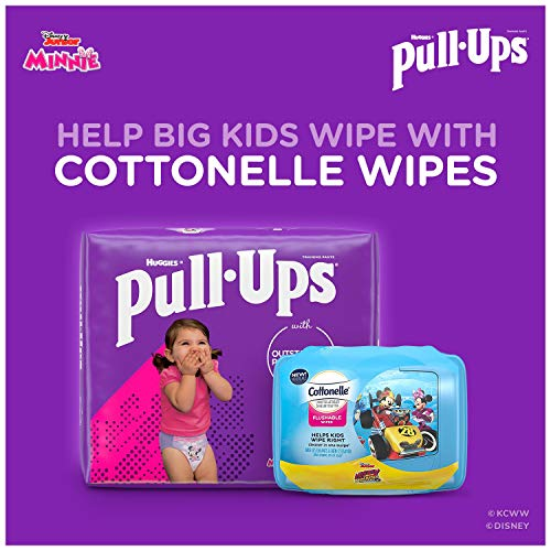 Pull-Ups Girls' Potty Training Pants Training Underwear Size 4, 2T-3T, 74 Ct