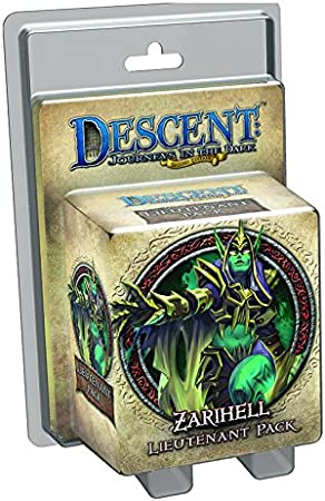 Descent: Zarihell Lieutenant Miniature Expansion: Amazon.es: Juguetes y juegos