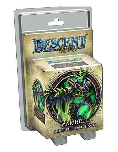 Journey Pack - Descent: Journeys in The Dark Zarihell Lieutenant Pack Board Game