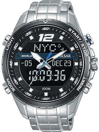 Digital Analog Pulsar - Pulsar - Men's Watch PZ4027X1