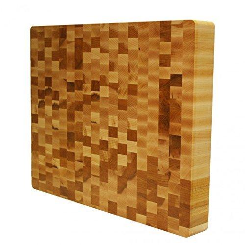 Kobi Blocks Maple End Grain Butcher Block Wood Cutting Board 12'' x 18'' x 1.5''