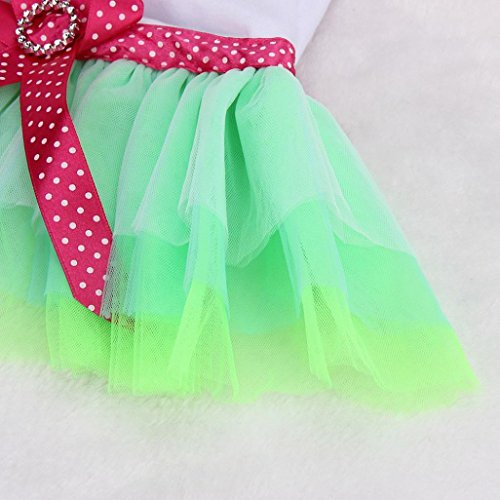 Pictures of OutTop Girl Dog Dress Lace Princess Tutu WSM60224084S_YD 3