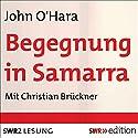 Begegnung in Samarra Hörbuch von John O'Hara Gesprochen von: Christian Brückner