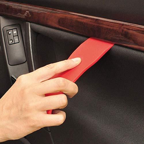 KINWAT 11pcs/Set Durable Car Trim Removal Set Auto Door Dash Trim Panel Molding Clip Retainer Open Removal Pry Hand Tools
