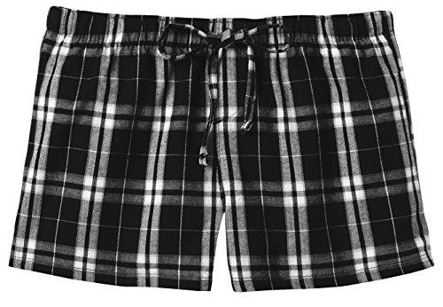 Ladies Flannel Pajama Shorts Juniors product image