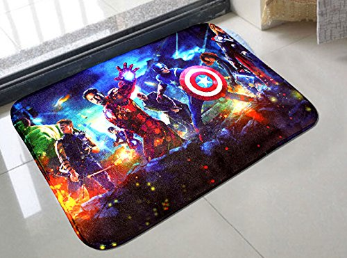 Charming Amazon.com: The Avengers Bright Door Mat Kitchen Bathroom Mat Carpet Bath  Mats For Home Decoration,: Kitchen U0026 Dining