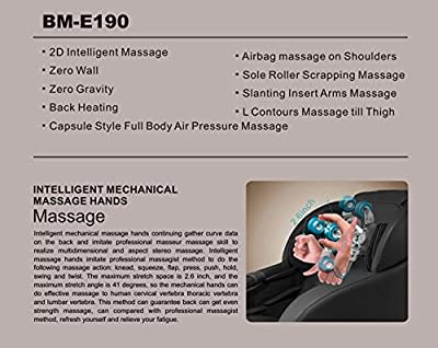 Electric Full Body Shiatsu Massage Chair Foot Roller L Shape Zero Gravity Chair w/Heat