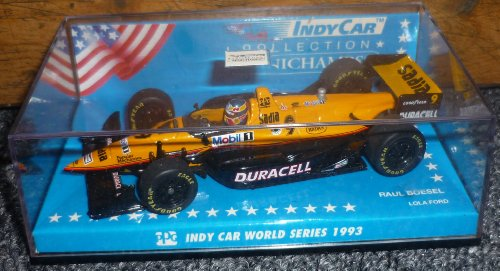 Minichamps Indy Car 1993 Series Raul Boesel Lola Ford Road Track 1/43 Metal (Car Minichamps Indy)