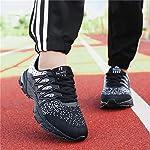 SOLLOMENSI Chaussures de Sport Running Basket Homme Femme Course Trail Entraînement Fitness Tennis Respirantes 10
