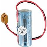 Sanyo Lithium Batterie CR17450E-R Size A, mit Kabel und Stecker