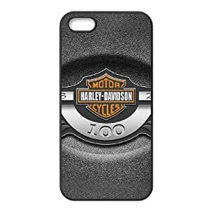 Harley Davidson iPhone 5 5s Cell Phone Case Black Delicate gift JIS_258883