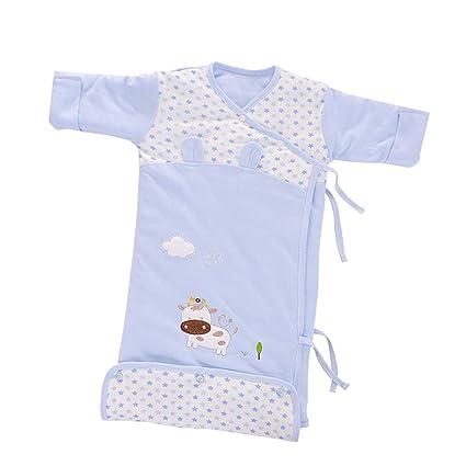 AZUO Manga Saco De Dormir, Tipo De Botón Algodón Bebé Manta Usable Adecuado para Infante