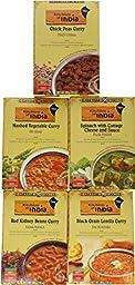 Kitchens of India Variety Sampler - 5 Flavors