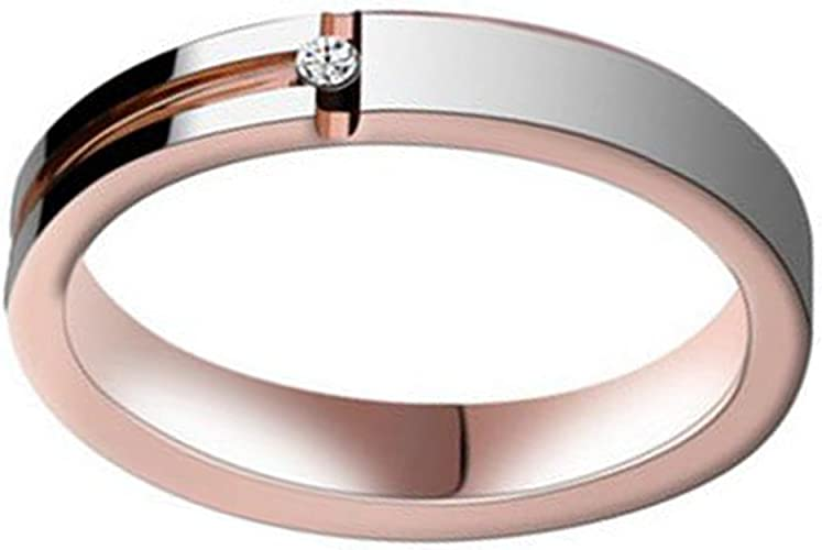 Tungsten 4mm or 5mm Diamond Faceted Wedding Band Ring Size 5-13