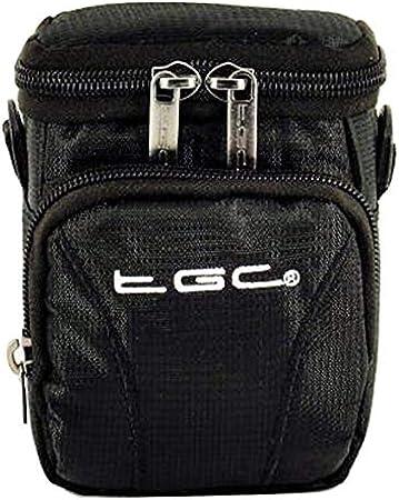 Jet Black /& Hot Pink The TGC /® Anti-Shock Camera Case for KODAK PIXPRO AZ251