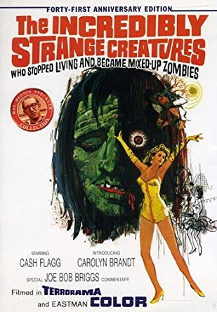 Image result for the incredibly strange creatures who stopped living and became mixed-up zombies full movie