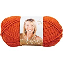 Lion Brand Yarn 860-134A Vanna's Choice Yarn, Terracotta