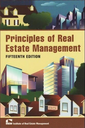 Principles of Real Estate Management, 15th Edition
