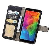 Asuwish LG Q7/Q7 Plus/Q7+ Wallet Case,Luxury