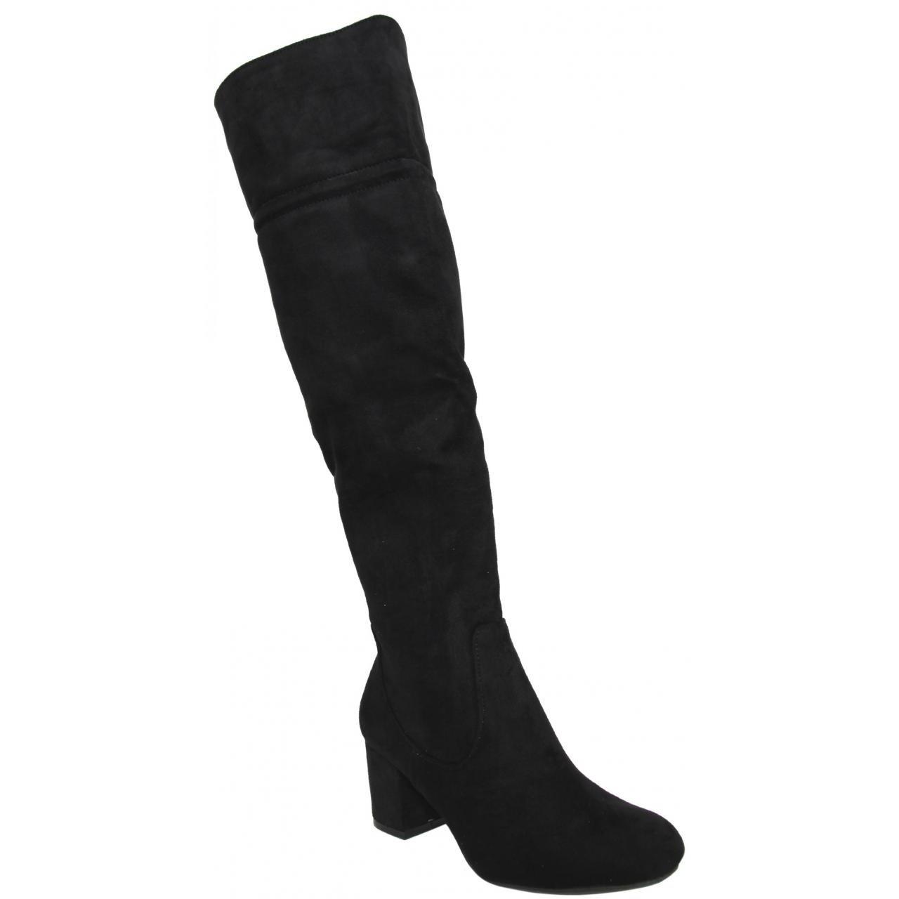 Antelina Noir Bottes 30670 Negro Femme Xti Pour p4q8wU