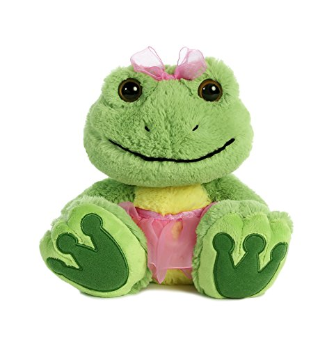 Aurora World Taddle Toes Charming Croakster Frog