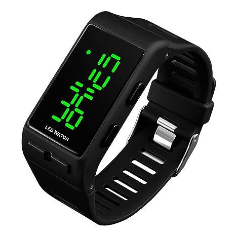 Relojes Digitales para Hombres Mujeres, 3 ATM Reloj Deportivo Digital a Prueba de Agua con