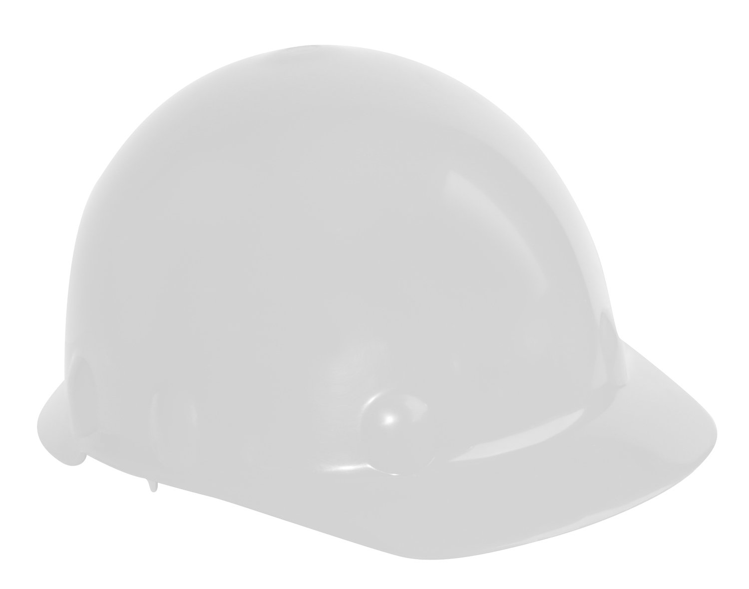 White Honeywell Safety Products USA Fibre-Metal by Honeywell SE201A000 Super Eight Type 2 Ratchet Cap Style Hard Hat