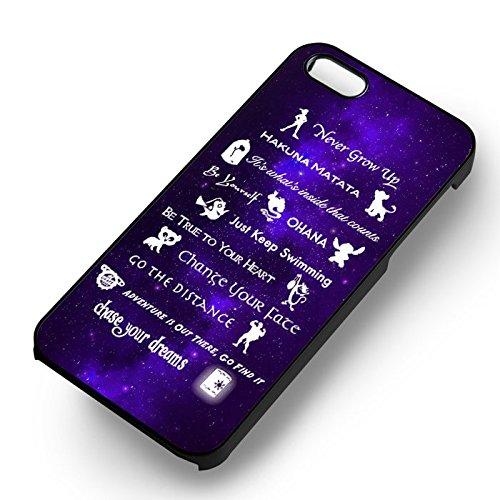 11 Best Lessons Disney pour Coque Iphone 6 et Coque Iphone 6s Case (Noir Boîtier en plastique dur) O3I6PJ