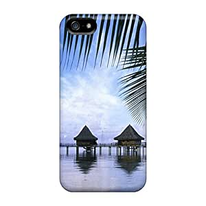 New Premium MBHyRLb5773ZSrbL Case Cover For Iphone 5/5s/ Bungalows Cook Isl Protective Case Cover
