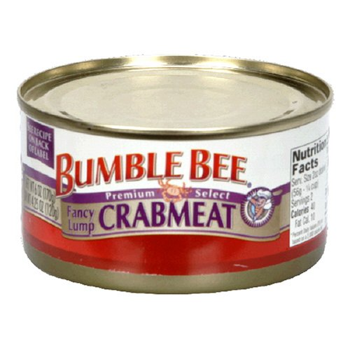 - Bumble Bee Lump Crabmeat, 6-Ounce Cans (Pack of 6)