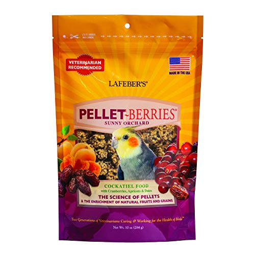 Cockatiel Pellets (LAFEBER'S Pellet-Berries for Cocaktiels 10 oz)